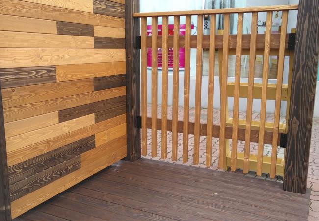 Дерев'яні паркани - 6