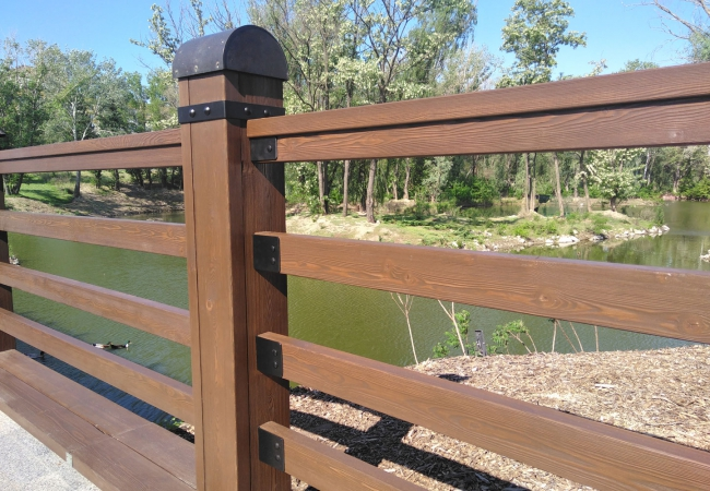 Дерев'яні паркани - 4