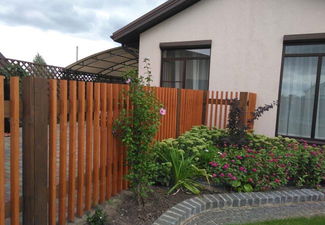 Дерев'яні паркани - 2